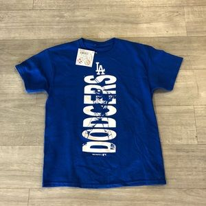Los Angeles Dodgers Boys Logo MLB Tee